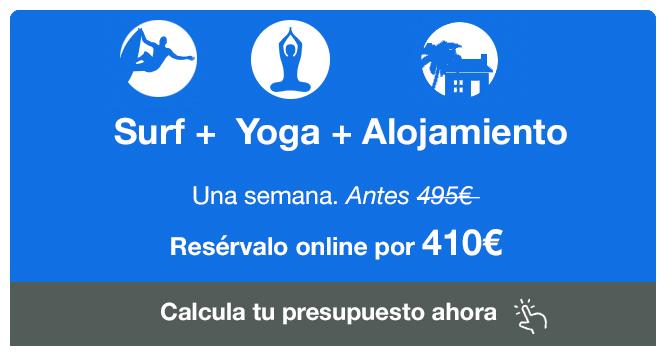 SURF+YOGA+ALOJAMIENTO