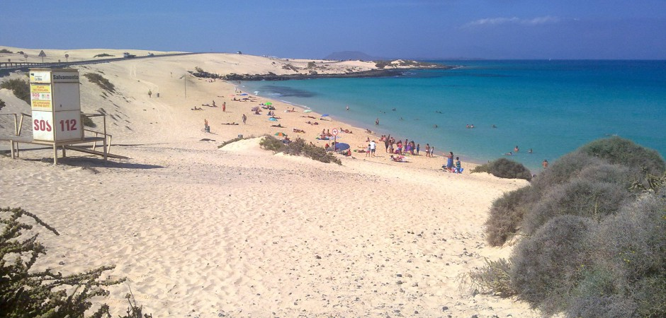 Glass beach Fuerteventura