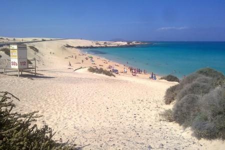 Glass beach Fuerteventura