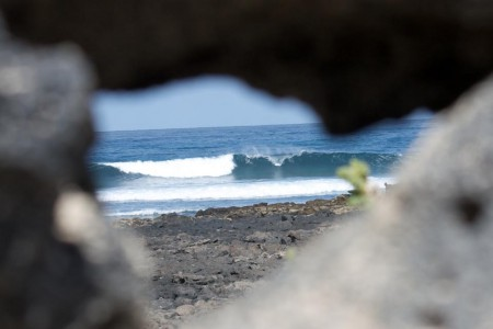 North shore. Surfing in Fuerteventura