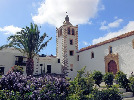 Betancuria. Church of Santa María