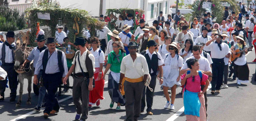 Festivities of Famara