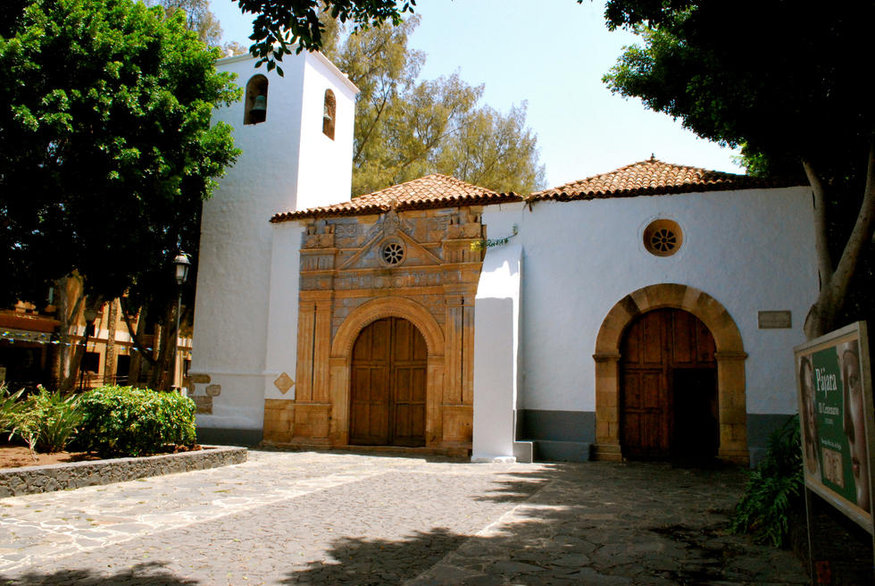 Pájara. Church of the Virgin de Regla