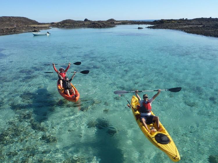 kayaking fuerteventura